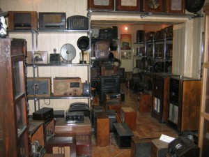 widok ogólny muzeum radia
